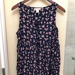 Urban Outfitters - sleeveless short floral dress